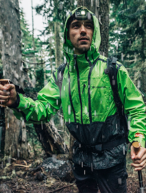 Columbia gear that keeps you dry