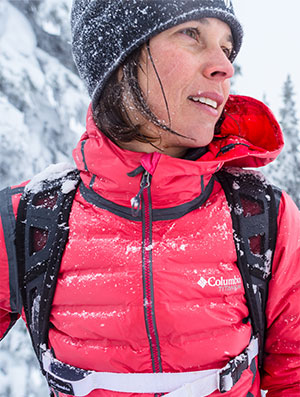 Columbia gear that keeps you warm